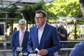 Premier Daniel Andrews on Thursday.