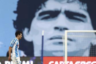 The football giant Diego Maradona died last month.