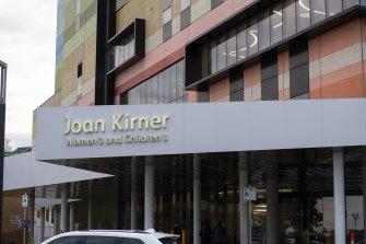 The Joan Kirner Women's and Children's Hospital in Sunshine.