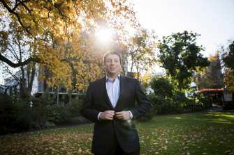 Liberal frontbencher Tim Smith, a key ally of Matthew Guy.
