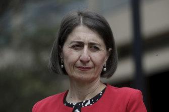 """We will not be decriminalising drugs,"" Premier Gladys Berejiklian said on Thursday."