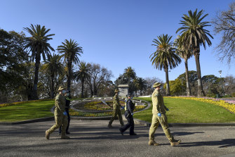 ADF personnel will return to Victorian streets to doorknock positive cases and close contacts.