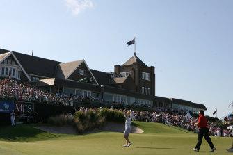 Royal Sydney Golf Club at Rose Bay.