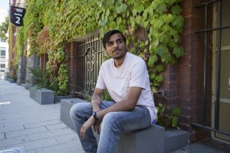 RMIT business information systems student Harsh says he cannot stand the thought of more remote learning.