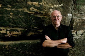 Clive James in Sydney in 2008.