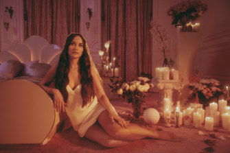 Country-pop star Kacey Musgraves' new album Star-Crossed is a concept album charting her recent divorce.