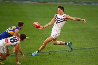 Rory Lobb gets a kick.