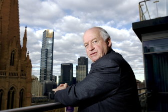 Property developer David Marriner owns an apartment in the Westin.