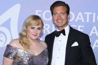 Rebel Wilson and her hunky new beau, American beer heir Jacob Busch, in Monte Carlo.
