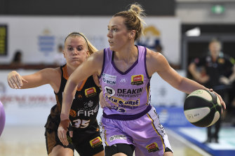 Maddie Garrick will be a key player for the Boomers.