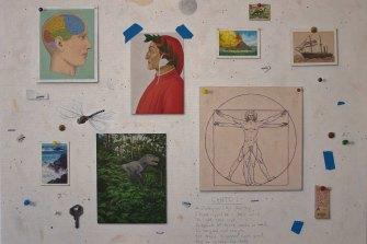 Andrew Sullivan,Studio Wall (mind's journey).