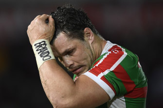 James Roberts is leaving Souths with a year remaining on his contract.