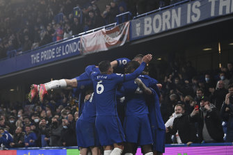 The Blues went third and took their Champions League destiny into their own hands in front of 8000 fans in west London.