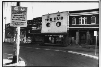The Hub Theatre in its earlier days.