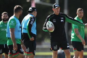 Rabbitohs coach Wayne Bennett has no plans to return to Red Hill in 2022.