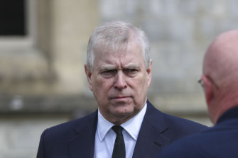 Lawyers for Prince Andrew, pictured, declined to comment.