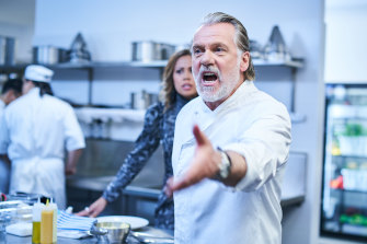 Angry chef Easton West (played by Erik Thomson) has some home truths coming his way in ABC's Aftertaste.