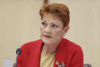 Pauline Hanson said the government's planned rollback would leave Australians vulnerable to predatory banking conduct.