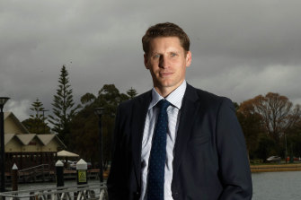 Liberal MP and former SAS member Andrew Hastie.