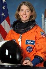 Former astronaut and space shuttle commander Pamela Melroy.