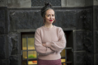 Marieke Hardy, artistic director of Melbourne Writers Festival, says hers is a literary arts festival.