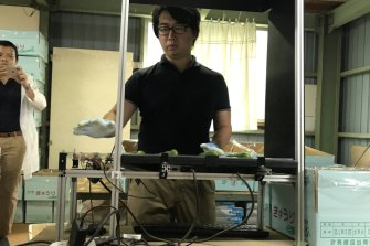Makoko Koike, a former car-parts industry programmer, returned to his family farm 280 kilometres west of Tokyo to try to use artificial intelligence to improve the sorting of cucumbers by quality.