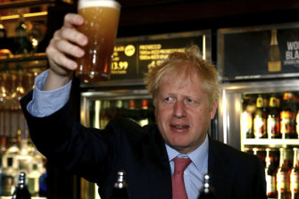 Leading Conservative Party leadership candidate Boris Johnson.