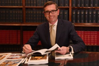 NSW Treasurer Dominic Perrottet will deliver his third budget on Tuesday.