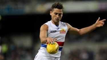 Luke Dahlhaus looks unlikely to return to the Dogs next season.