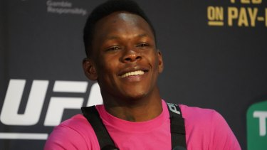 Israel Adesanya is hunting for the title.