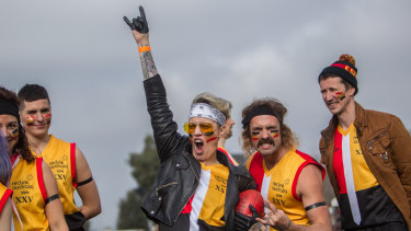 Espy Rockdogs players during the Reclink Community Cup