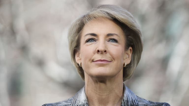 Michaelia Cash is the new minister for VET in the Morrison government.