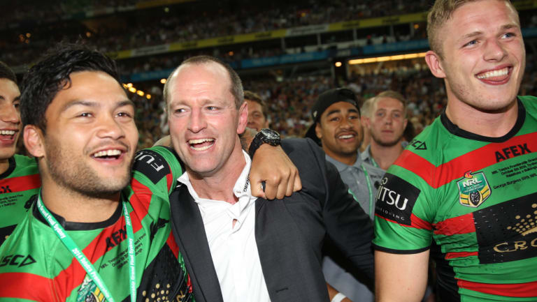 New challenge: A premiership with Souths in 2014 gives Michael Maguire the right pedigree in a bull coaching market.