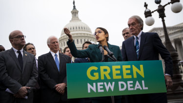 Alexandria Ocasio-Cortez's Green New Deal comes with a hefty price tag.
