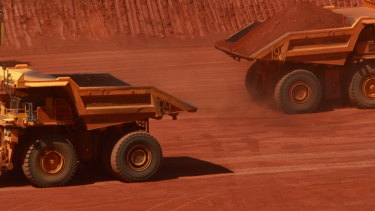 Iron ore miners were some of the companies hardest hit by a 1.9 per cent fall on the ASX200 amid fears of a slowdown in China.