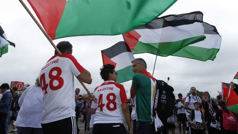 More than a game: The Palestinian diaspora has united behind their national team at the Asian Cup.