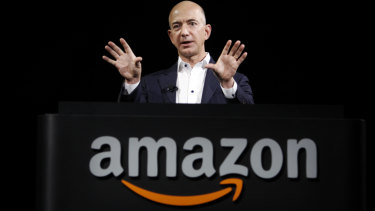 Jeff Bezos, CEO and founder of Amazon