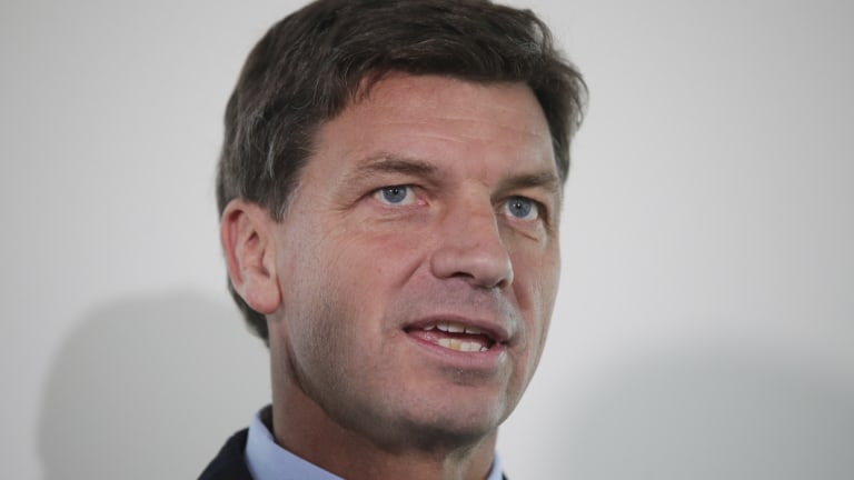 Liberal Party moderates have expressed concern at the direction of energy policy under new minister Angus Taylor.