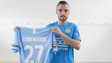 New City signing Florin Berenguer.