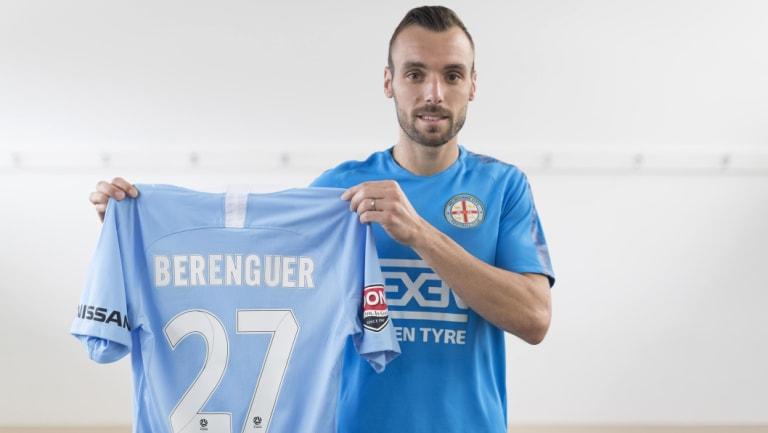 New City signing Florin Berenguer.