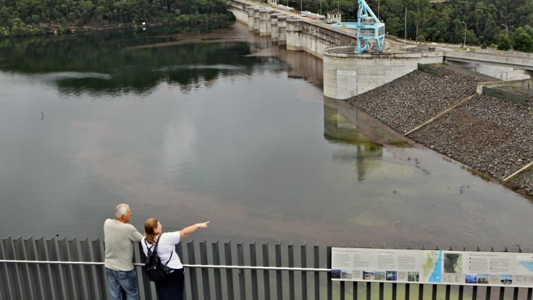 Warragamba Dam wall:  The government has secured passage of a key bill, opening to way for it to be raised.