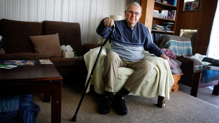 Mount Warrigal resident Erwin Langthaller, 84, died in the blaze.