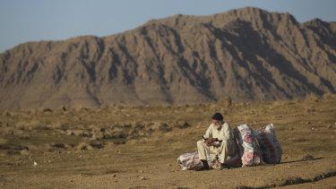 Paul McGeough in Oruzgan, Afghanistan, 2013.