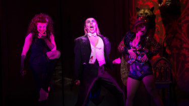 Westaby starred in the Australian tour of The Rocky Horror Show when she first arrived here.