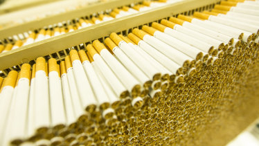"""British American Tobacco told Reuters its US cigarette performance had been helped by government stimulus payments, which have boosted disposable incomes, as well as working from home and """"pantry-loading"""" - stocking up on necessities."""