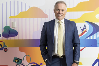 NIB boss Mark Fitzgibbon says the insurer has increased its focus on data over the past year, after announcing a $20 million joint venture with insurance giant Cigna.