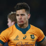To'omua to miss Wallabies' spring tour due to concussion