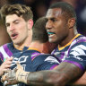 Storm welcome Vunivalu back for Roosters clash, sweat on Curtis Scott