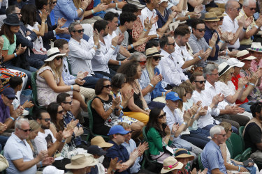 Wimbledon instituted a no jab or test, no entry policy for this year's tournament.