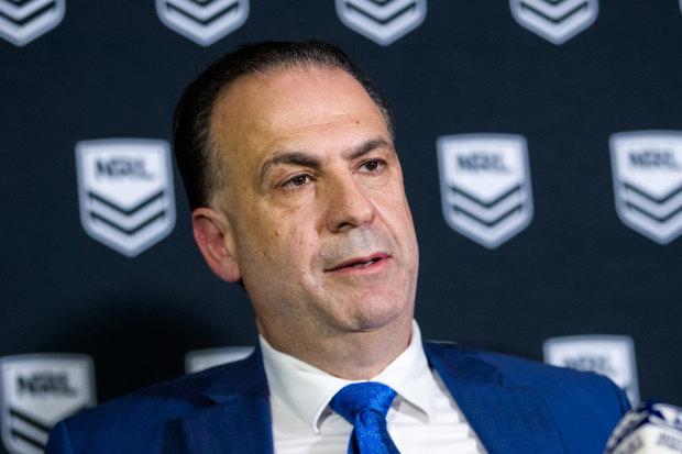 Australian Rugby League Commission chairman Peter V'landys.